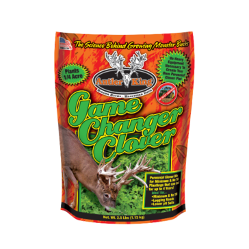 Antler King Game Changer 2.5lb Clover Food Plot Mix