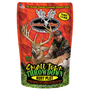 Antler King Small Town Throwdown 4lb 1/4 Acre Food Plot Mix