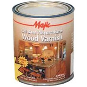 Majic Polyurethane Clear Wood Varnish 32oz (Quart)