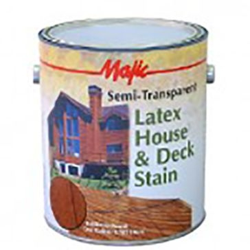 Majic Semi-Transparent Latex House & Deck Stain
