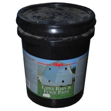 Majic Exterior Latex Flat Barn Paint 5Gal