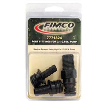 Fimco 3 Pack High-Flo 2.1 G.P.M Pump Fittings 7771824