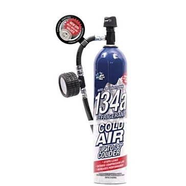 Avalanche 134a Refrigerant with Hose 18 OZ.