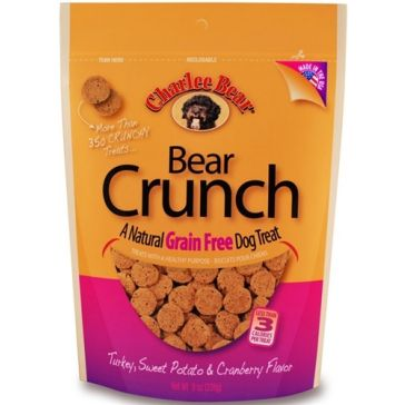 Charlee Bear Grain Free Dog Treats 8oz.
