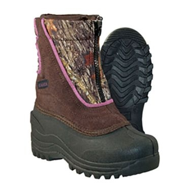 Itasca Kids Pink Camo Reflective Snow Stomper Boots