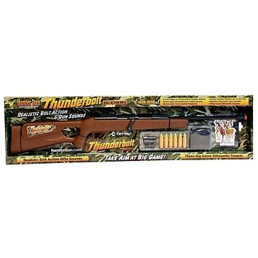 Thunderbolt Bolt Action Toy Rifle