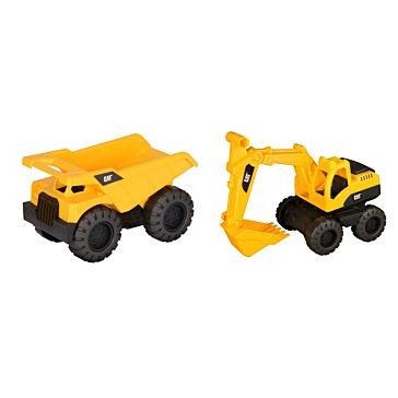 CAT Tough Tracks Rugged Machines 2-pack ASST.