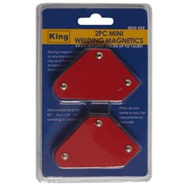 King Tools 2 Piece Mini Welding Magnetic Holder