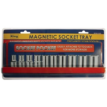 King Tools Magnetic Socket Tray