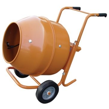 King Tools 5 Cubic Feet Portable Cement Mixer