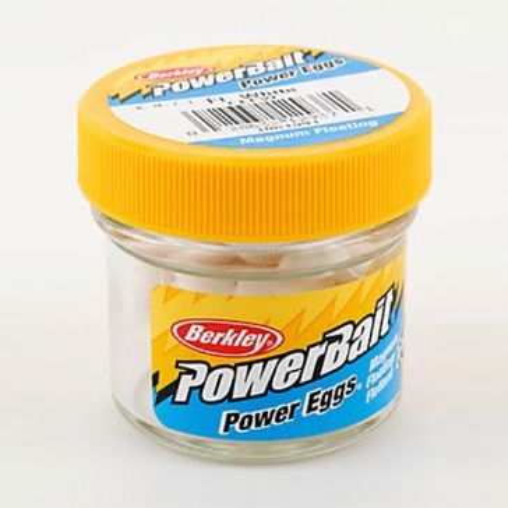 Berkley PowerBait Power Eggs Floating Magnum Fluorescent White