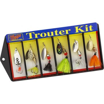 Mepps Plain and Dressed Lure Assortment Trouter Kit