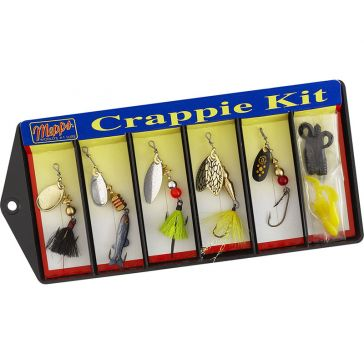 Mepps Plain and Dressed Lure Assortment Crappie Kit