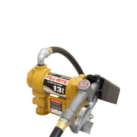 FILL-RITE 12V DC Fuel Pump w/Hose & Manual Nozzle SD1202G