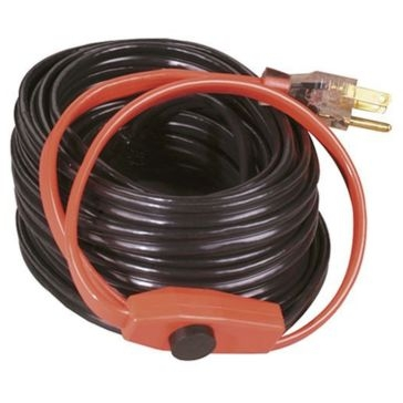 EasyHeat 18' Electric Water Pipe Freeze Protection Cable