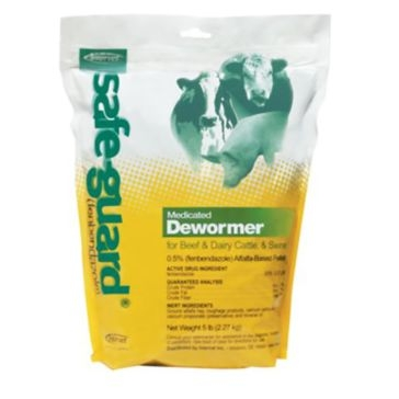 Safeguard .5% Pelleted Horse Wormer 040102