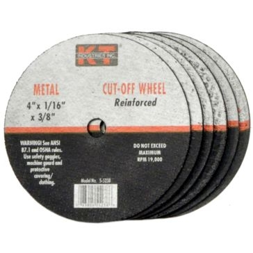 K-T Industries 3 X 1/16 X 1/4 Cutting Wheel 5-5228