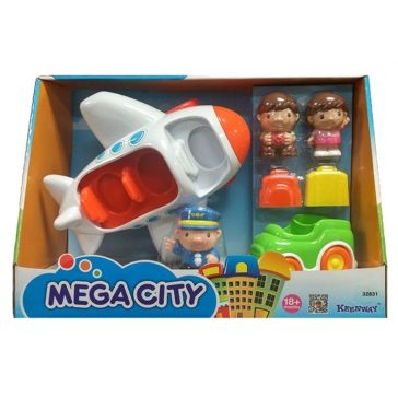 Keenway Mega-City Airport Set 32831