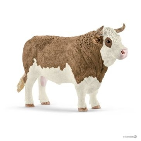 Schleich Fleckvieh Simmental Bull 13800