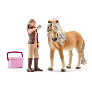 Schleich Icelandic Pony Mare with Groom