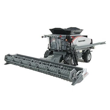 Spec Cast 1:64 Gleaner S78 Combine with Draper