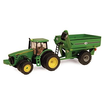 Ertl 1:64 John Deere 8320R With J-M Grain Cart 45236