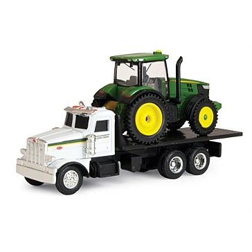 Ertl 1:64 Peterbilt Truck with John Deere 7R
