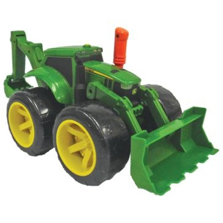 Tomy John Deere Monster Treads 2X Scoop Tractor