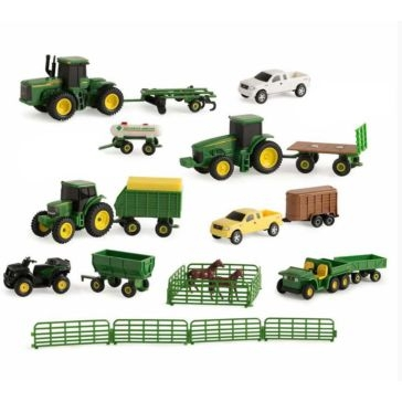 John Deere 1:64 Vehicle Value Set Assortment