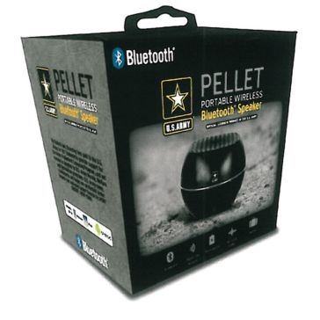 U.S. Army Pellet Portable Wireless Bluetooth Speaker