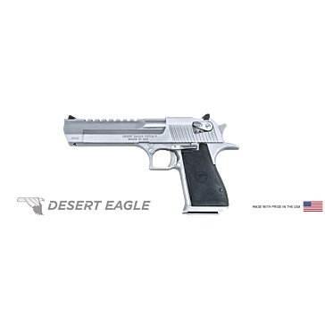 "Desert Eagle .50AE Semi-Automatic Pistol  6"" Barrel Stainless Steel"