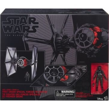 """Star Wars The Black Series First Order Special Forces TIE Fighter 6"""" Scale"""
