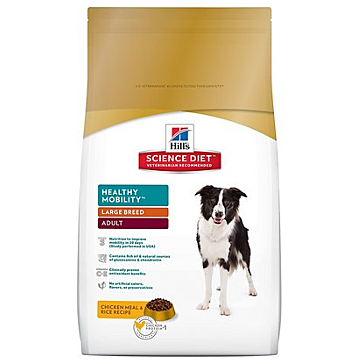 Hill's Science Diet Adult Healthy Mobility Large Breed Dog Food 30lb