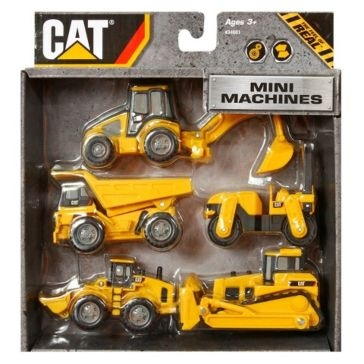 Toy State CAT Mini Machines 5-Pack