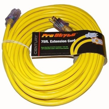 Century 75' 12/3 Heavy Duty Extension Cord