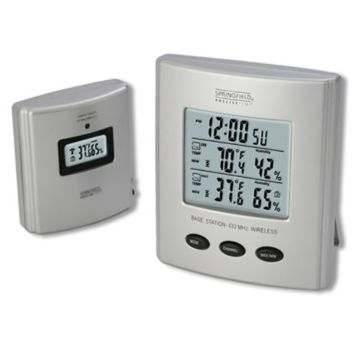 Springfield Digital Wireless Thermometer/Humidity Station 91756