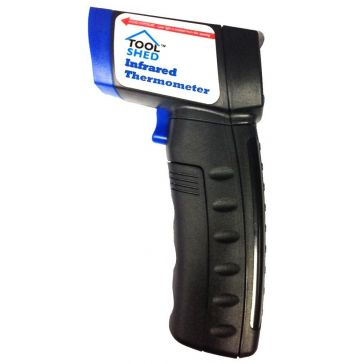 Tool Shed Infrared Thermometer with Laser Targeting