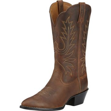 Ariat Womens Heritage Western R Toe Cowgirl Boots