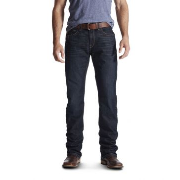 Ariat Mens Rebar Fashion M4 Lowrise Bootcut Jeans 10016220