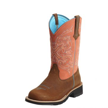 Ariat Womens Fatbaby Tall Cowgirl Boots
