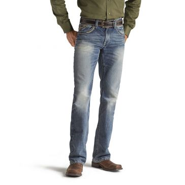 Ariat Mens M5 Low Rise Straight Gambler Jeans 10012703