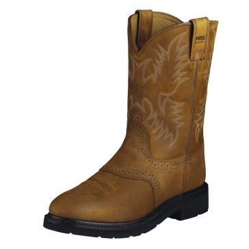 Ariat Mens Sierra Saddle Leather Work Boots