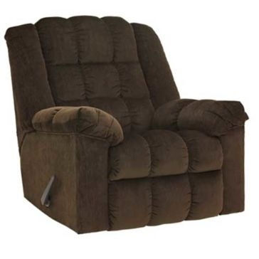 Ashley Ludden Recliner - Cocoa (Dark Brown)