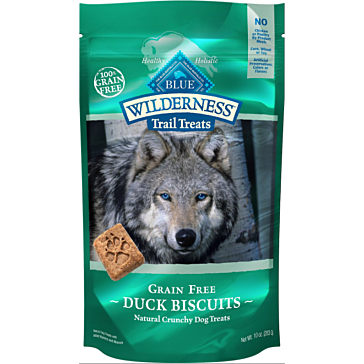 Blue Buffalo Wilderness Grain-Free Duck Biscuits