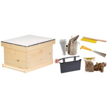 Little Giant 10-Frame Langstroth Beginner Hive Kit