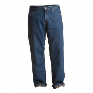 Berne Men's Dungaree Flannel-Lined Denim Jeans