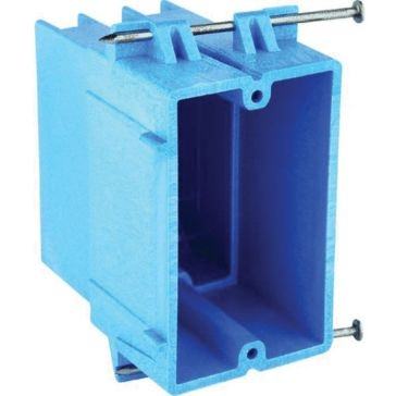 Thomas & Betts PVC Outlet Boxes 1 Gang Box BH122A-UPC