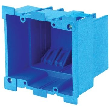 Thomas & Betts PVC Outlet Boxes 34cu Super Blue Old Work Box BH234R