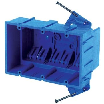 Thomas & Betts PVC Outlet Boxes 3 Gang Box BH353A