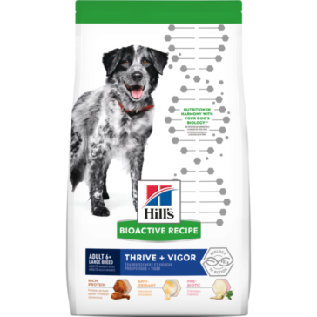 Hill's Bioactive Recipe Adult 6+ Large Breed Thrive + Vigor dog food